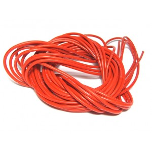Silicon Wire 1AWG Super Soft (1mtr) RED