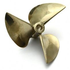 [TFL] Boat Prop 3B 72mm x 6.35mm (5B16*72) Copper Propeller