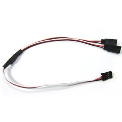 15cm Y Cable + 2 X 20cm Extension For Servos