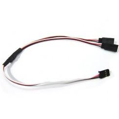 15cm Y Cable + 2 X 20cm Extension For Servos