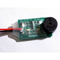 Maxpro Battery Monitor LIGHT/ALARM for 2S lipo batteries