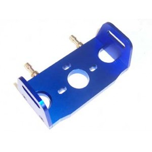 Blue Aluminum Water-cooling Motor Mount for Large Boat(1set)