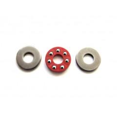 "3/16-STP Trust Bearing Set, Ball Thrust - 3/16"" Id (Stainless steel)"