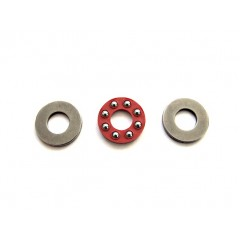"1/4-STP Trust Bearing Set, Ball Thrust - 1/4"" Id (Stainless steel)"