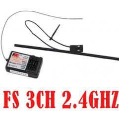 FS-GT2 3ch 2.4GHz Receiver FS 2.4G