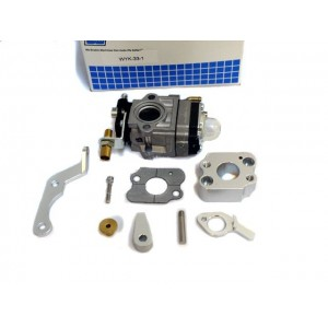 Isolator block with Walbro 33 with throttle assembly