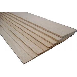 Balsa sheet 3.0 X 80 X 895 mm