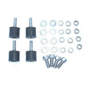 Engine Mounting Rubbers (4pcs) D=?13 L=14 mm M5
