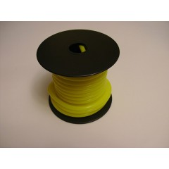 Silicone tube 3.0mm I.D. x 5.0mm O.D. Yellow