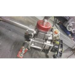 RZ  K-30 EVO rear exhaust marine engine, Used Fine condition + spare piston, piston ring