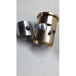 Piston + Brass/Chrome Sleeve for CMB .91 RS EVO RC Engines