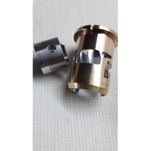 Piston + Brass/Chrome Sleeve for CMB .45 RS EVO RC Engines