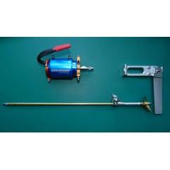 Complete  Brushless Inrunner (WaterCooled) + Strut + Prop + Rudder