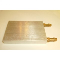 L58 x W40 x H8mm Aluminium Water Cooling Plate