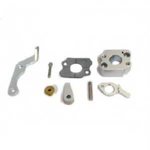 Isolator block for Walbro 33 with throttle assembly