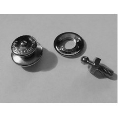 [LOXX] Push Button Latch Locks Lenght 28mm 2pcs