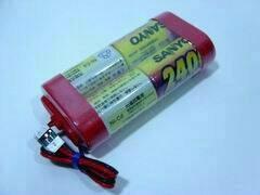 SANYO RX Battery; 4.8 V; 2400 mAh